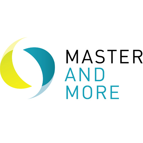 Logo: MASTER AND MORE Messe Hannover